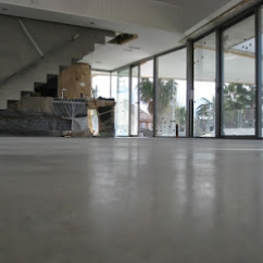 pavimentacion con hormigon pulido en granada